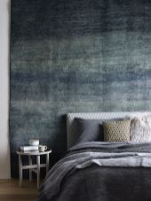 Beautiful bedroom design ideas using grey carpet 049