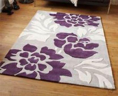 Beautiful bedroom design ideas using grey carpet 067
