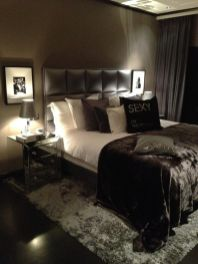 Beautiful bedroom design ideas using grey carpet 079
