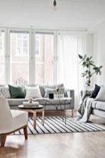 Beautiful bedroom design ideas using grey carpet 080