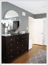 Beautiful bedroom design ideas using grey carpet 088