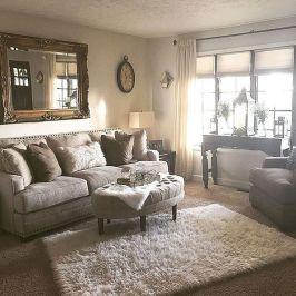 Beautiful bedroom design ideas using grey carpet 091