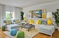 Beautiful grey living room decor ideas 18
