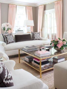 Beautiful grey living room decor ideas 19
