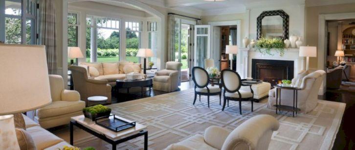 Beautiful grey living room decor ideas 25