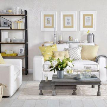 Beautiful grey living room decor ideas 32