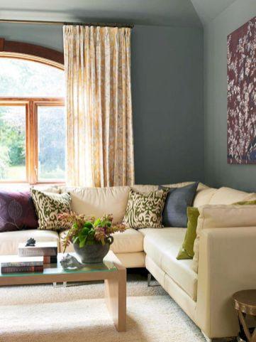 Beautiful grey living room decor ideas 36