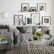 Beautiful grey living room decor ideas 54