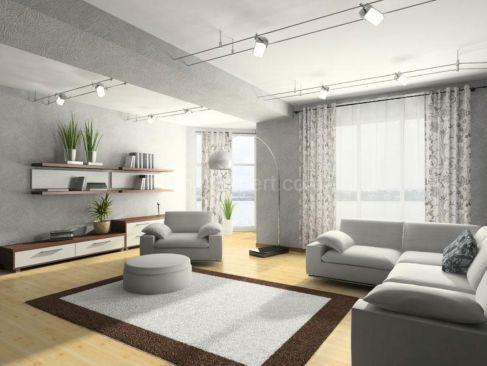 Beautiful grey living room decor ideas 58