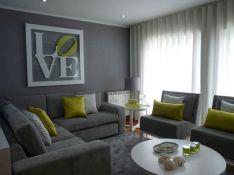 Beautiful grey living room decor ideas 59