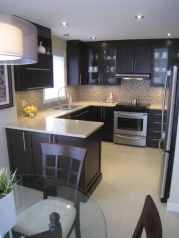 Beautiful kitchen design ideas for mobile homes 01