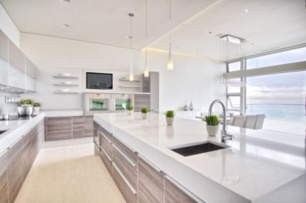 Beautiful kitchen design ideas for mobile homes 16