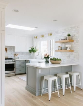 Beautiful kitchen design ideas for mobile homes 19