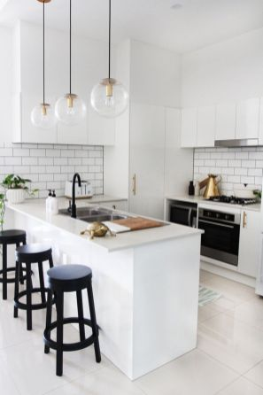 Beautiful kitchen design ideas for mobile homes 35