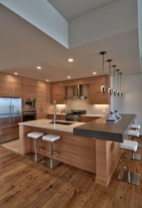 Beautiful kitchen design ideas for mobile homes 54