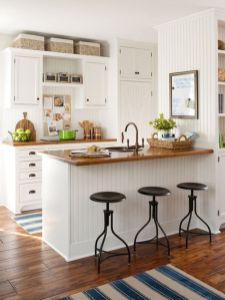 Beautiful kitchen design ideas for mobile homes 77