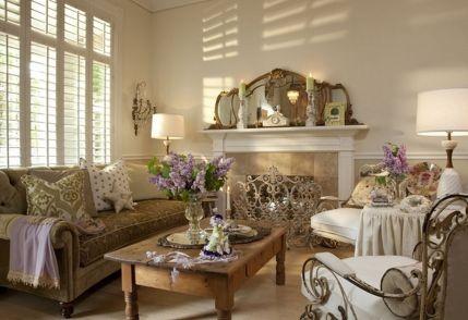 Beautiful shabby chic dining room decor ideas 06
