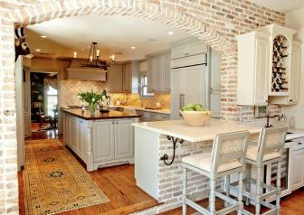 Brick kitchen 70