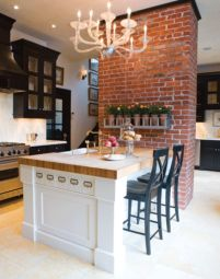 Brick kitchen 73