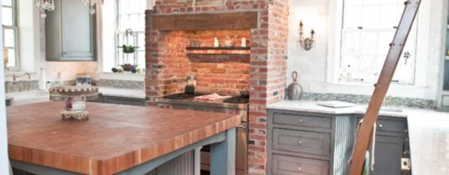 Brick kitchen 75