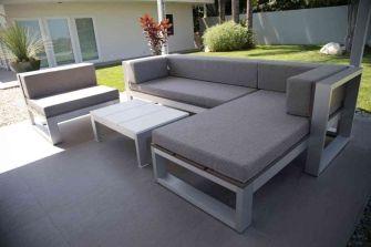 Cinder block furniture backyard 44