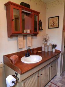 Cool bathroom counter organization ideas 03