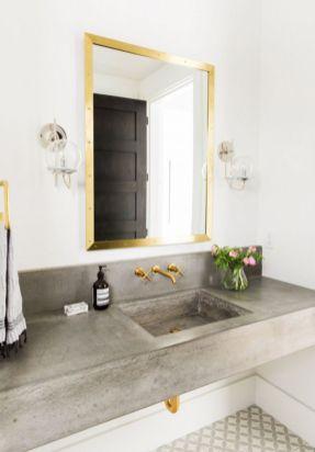 Cool bathroom counter organization ideas 06