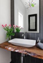 Cool bathroom counter organization ideas 09