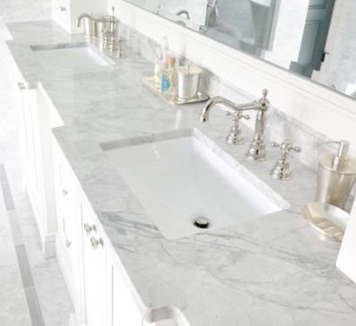 Cool bathroom counter organization ideas 15