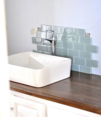 Cool bathroom counter organization ideas 26