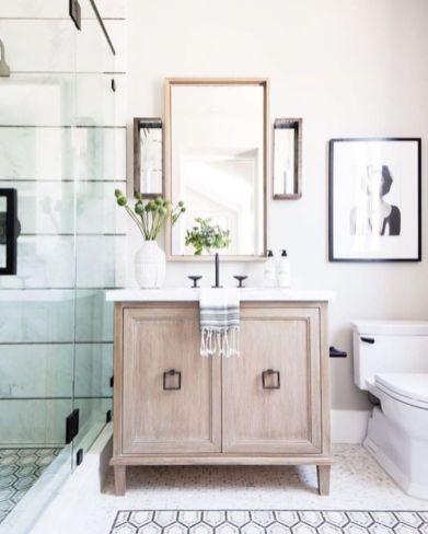 Cool bathroom counter organization ideas 44