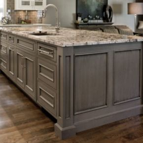 Cool grey kitchen cabinet ideas 13
