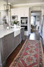 Cool grey kitchen cabinet ideas 24