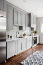 Cool grey kitchen cabinet ideas 29