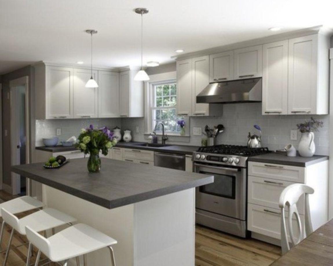 80 Cool Grey Kitchen Cabinet Ideas Round Decor