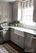 Cool grey kitchen cabinet ideas 46