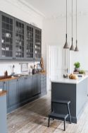 Cool grey kitchen cabinet ideas 54