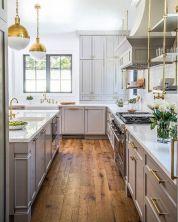 Cool grey kitchen cabinet ideas 58