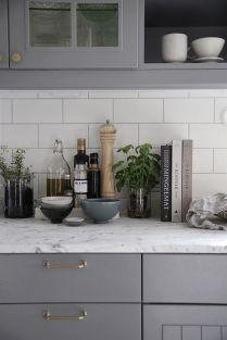 Cool grey kitchen cabinet ideas 69