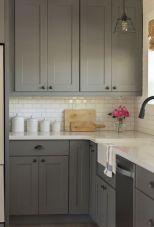 Cool grey kitchen cabinet ideas 71