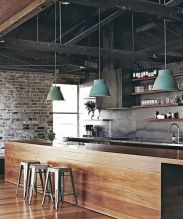 Cool kitchens design ideas with bay windows 03