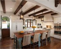 Cool kitchens design ideas with bay windows 22