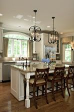 Cool kitchens design ideas with bay windows 40