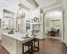 Cool kitchens design ideas with bay windows 47