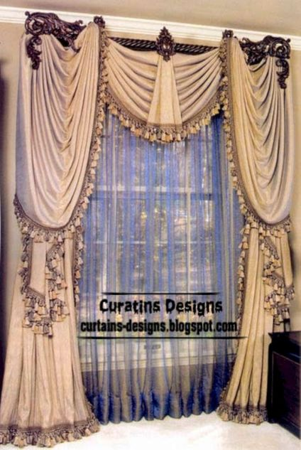 Cool luxury curtains for living room 08