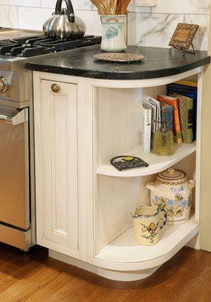Corner kitchen cabinet storage 19