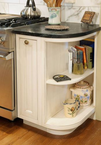 Corner kitchen cabinet storage 19