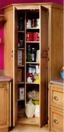 Corner kitchen cabinet storage 45