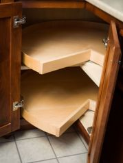 Corner kitchen cabinet storage 51