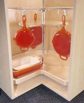 Corner kitchen cabinet storage 57